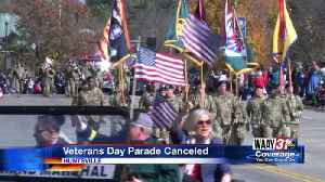 Veterans Day Parade Canceled [Video]
