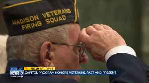 Program at state Capitol honors veterans, past and present [Video]
