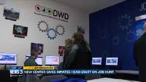'Everybody deserves an opportunity': Job center opens inside state prison [Video]