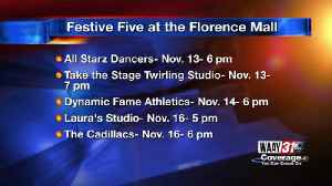 Festive Five at the Florence & Decatur Mall [Video]