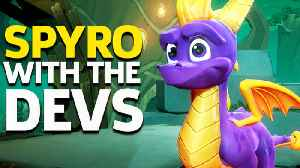 We Played Spyro Reignited With The Devs! [Video]