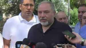 Lieberman Quits As Israeli Defence Minister Over Gaza 'Truce' [Video]