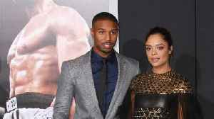 Tessa Thompson Says Michael B. Jordan Was Caught Looking At Her Butt During Her 'Creed' Audition [Video]