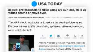 #ThisIsOurLane: Doctors push back on NRA over gun debate [Video]