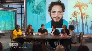 The Talk - Mark Wahlberg on Giving Post Malone First Acting Gig; Says First Scene Was 'magic' [Video]