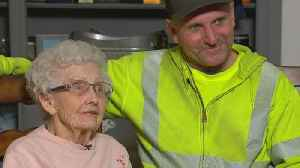 Hero Sanitation Worker Rescues 93-Year-Old Woman From California Fires [Video]