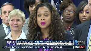 Supreme Court chooses not to hear case against Mosby [Video]