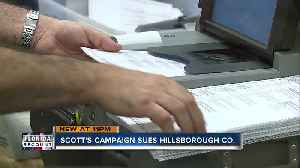 Rick Scott files lawsuit against Hillsborough County Supervisor of Elections over recount [Video]