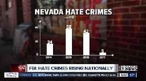 Nevada hate crime numbers buck national trend [Video]