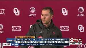 Oklahoma remains #6 in College Football Playoff Rankings, Jerry Jones calls rumors of interest in Lincoln Riley