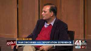 Syed Jamal discusses his deportation experience [Video]