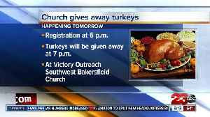 Local church hosting turkey giveaway [Video]