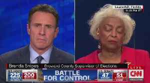 CNN's Cuomo grills Broward's Snipes on outstanding votes in Florida [Video]