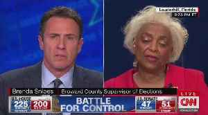 Broward election supervisor gives confusing response about rejected provisional ballots [Video]