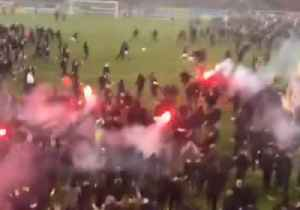 Swede Smell of Success - AIK Fans in Epic Pitch Invasion After Title Win [Video]