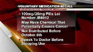 Blood pressure drug recall expands again [Video]