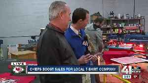 Chiefs success boosts business off the field as T-shirt company releases new design [Video]
