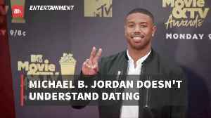 Michael B. Jordan Isn't Wise When it Comes To Romance [Video]