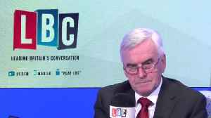 """John McDonnell: """"I'm On A One Man Campaign To Rehabilitate The Readings Of Marx"""" [Video]"""