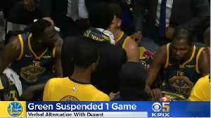 Draymond Green Suspended After Heated Argument With Kevin Durant [Video]