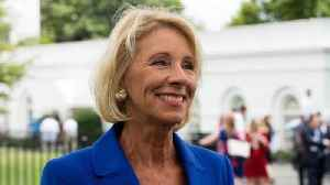 Lawsuit Alleges Betsy DeVos Failed To Cancel Student Debt Related To Closed Colleges