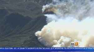 Woolsey Fire Flares Up Near Thousand Oaks, New Evacuations Issued [Video]