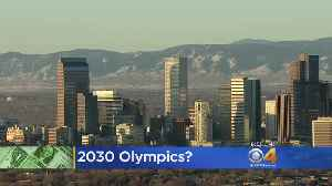 U.S. Olympic Committee Visits Denver For City Survey [Video]