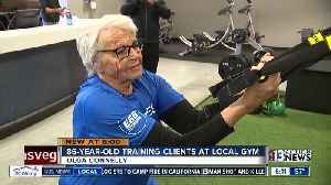 86-year-old Olympian now personal trainer [Video]