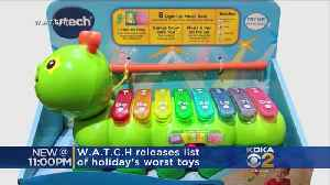 WATCH Releases 10 Worst Toys For The Holidays [Video]