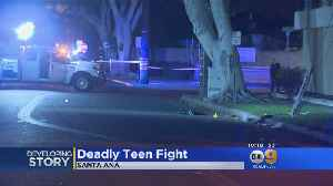 Deadly Teen Fight In Santa Ana [Video]