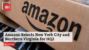 Amazon Selects 2 More HQs [Video]