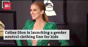 Celine Dion Is Starting A New Clothing Line For Kids [Video]
