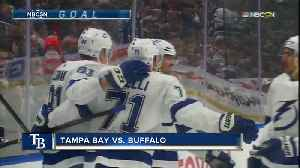 Carter Hutton makes 29 saves in Buffalo Sabres' 2-1 win over Tampa Bay Lightning [Video]