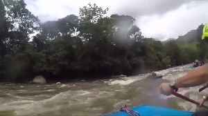 From gunbattles to tourism: Colombia's ex-rebels turn rafting guides [Video]