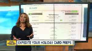 News video: Two resources that can help you with your holiday cards