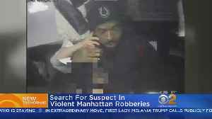 Search For Man Behind Robbery Spree [Video]