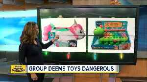 Consumer safety group unveils 10 'worst toys' for the 2018 holiday season [Video]