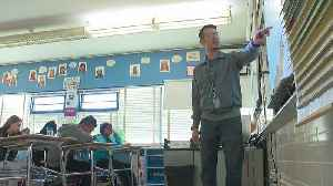 Iraq War Veteran Helps Roseville 7th Graders Make Sense Of History [Video]