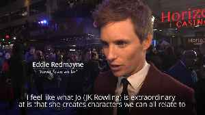 Eddie Redmayne says Fantastic Beasts sequel reflects 'seismic' political changes [Video]