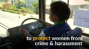 Women bus drivers provide safety in Papua New Guinea [Video]