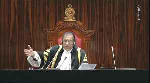 News video: Sri Lanka parliament 'votes against newly appointed PM Rajapaksa'