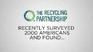 Recycling is an Important Relationship Quality [Video]