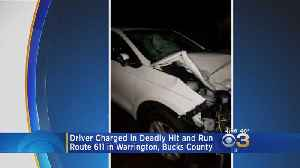 Arrest Made In Warrington Township Fatal Hit-And-Run [Video]