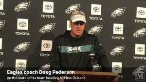 VIDEO: Eagles coach Doug Pederson speaks about the state of his team [Video]