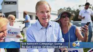 Sen. Bill Nelson Campaign Files Suit Over Emailed Ballots [Video]