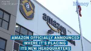 Amazon has officially picked its new headquarter locations. Here's how many jobs it promises to bring [Video]