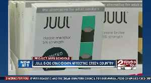 Juul roles out restrictions that take effect in green country [Video]