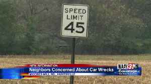 Neighbors concerned about car wrecks [Video]