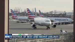 Consumer Reports: Best and worst airlines [Video]
