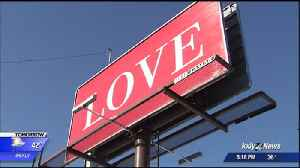 Spokane man creates billboards to spread love across the country [Video]